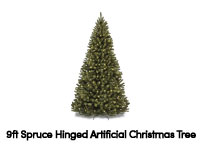 9ft Fiber Optic Christmas Tree