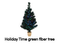 3ft Fiber Optic Christmas Tree