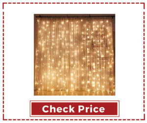 Twinkle Star Curtain String LED