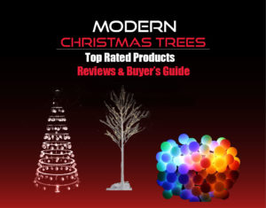 the modern christmas trees