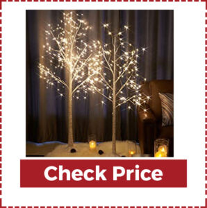 Modern Artificial Warm White Fairy Lights Christmas Tree