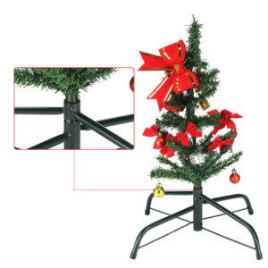 Christmas Tree with An Iron Stand