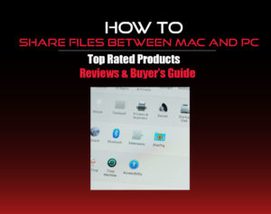 how to share files between mac and pc
