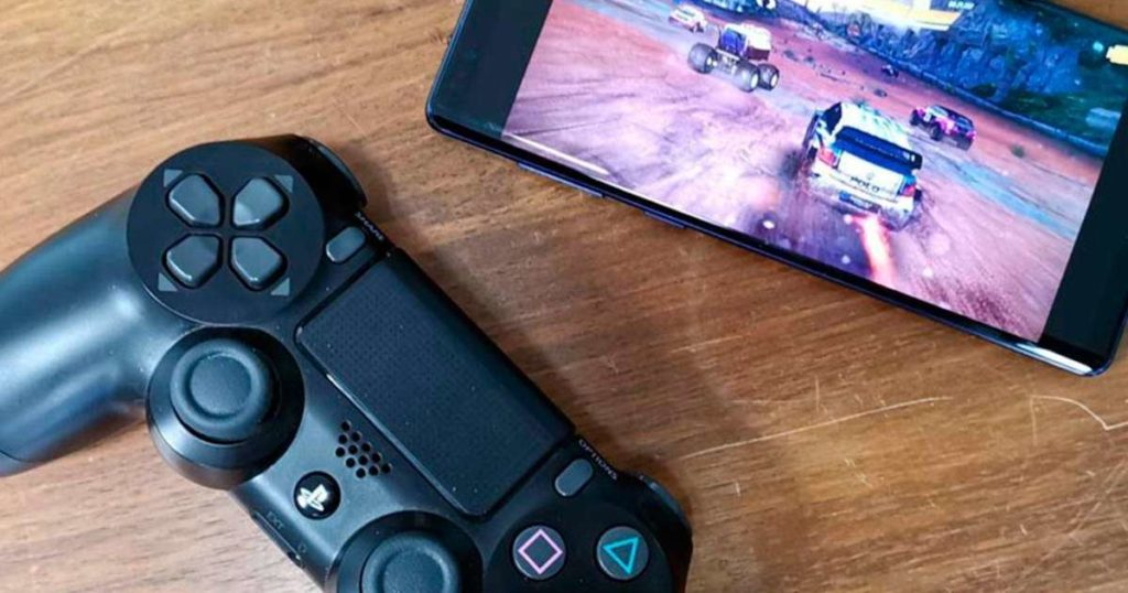 connect a controller to an android devices