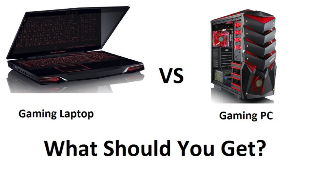 GAMING PC VS Gaming LAPTOP