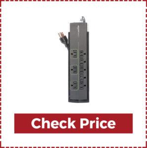 AmazonBasics 8-outlet Power Strip Surge Protection