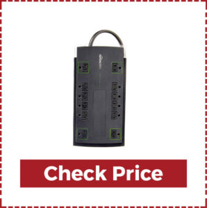 AmazonBasics 12 outlet Power Strip surge Protector