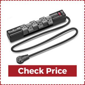 Nekteck Surge Protector Power Strip with 2 USB Port