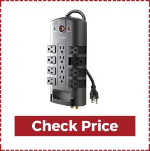 Belkin 12- Outlet Pivot-Plug Power Strip Surge Protector